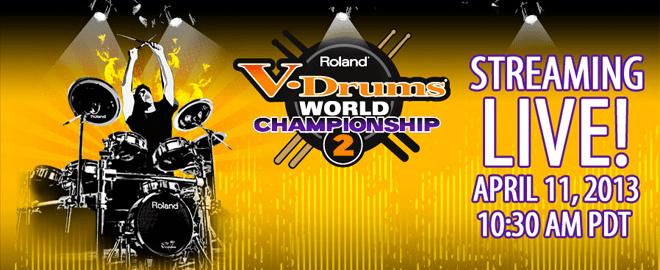 Roland V-Drums World Championship 2