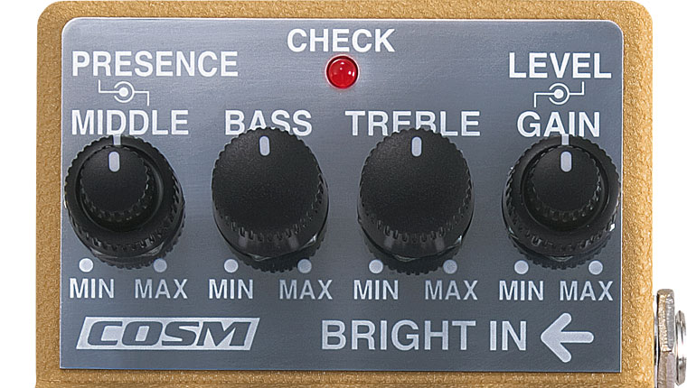 Panel Knobs on the BOSS FBM-1 Fender '59 Bassman Pedal