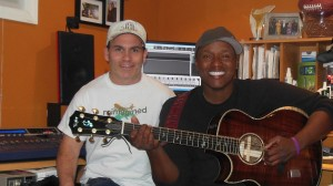 Javier Colon and JL