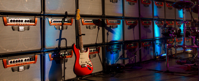 GA Amp Sound Wall