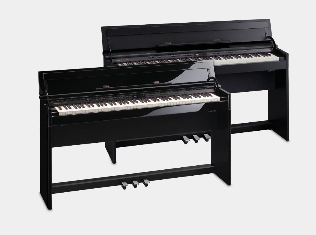 Roland DP90Se and DP90e Digital Home Pianos