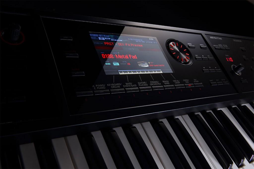 FA-06 Music Workstation Display