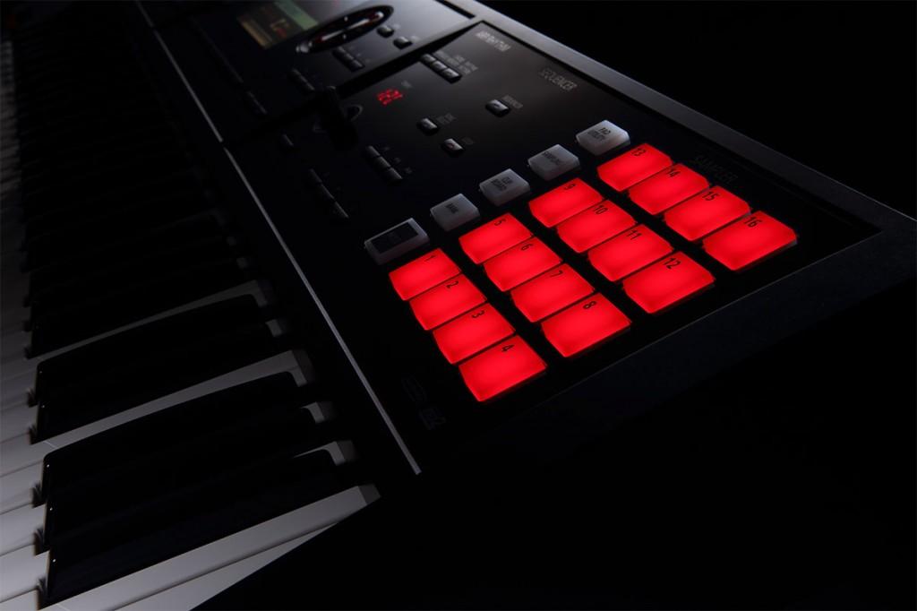 FA-06 Music Workstation Sample Pads