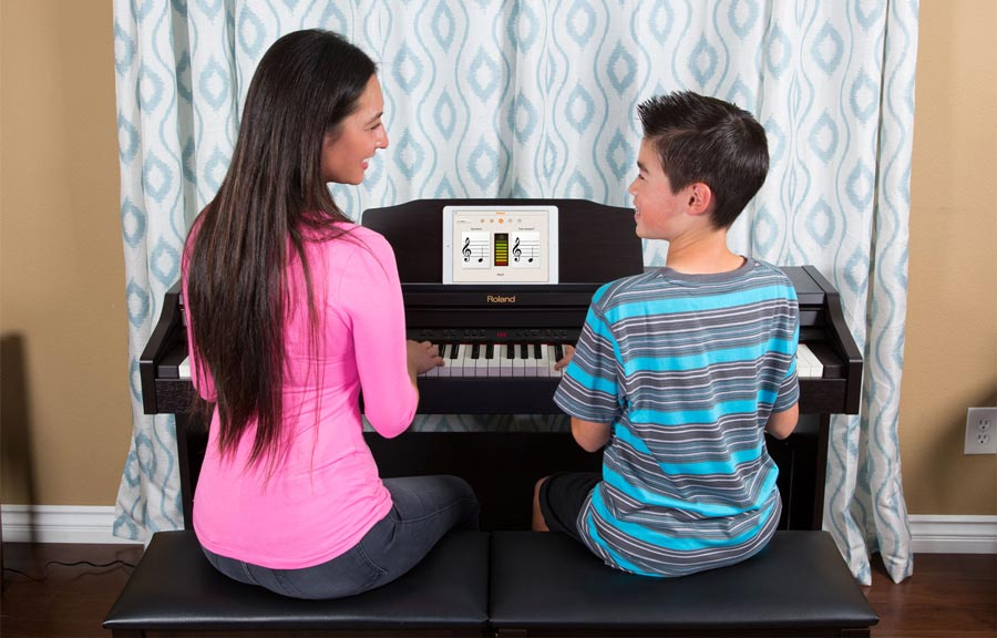 Piano Partner for iPad for the RP-401R and F-130R