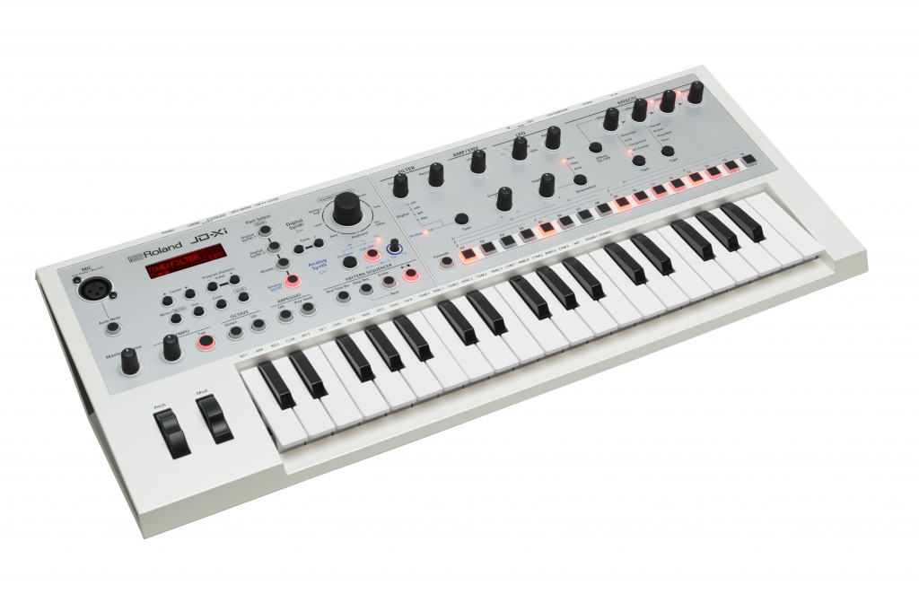 Roland JD-Xi Interactive Crossover Synthesizer in White
