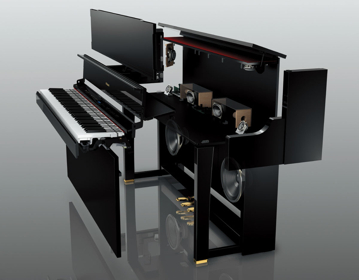 premium additions to roland s home piano lineup roland u s blog. Black Bedroom Furniture Sets. Home Design Ideas