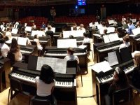 Roland and 101 Pianists in Philadelphia