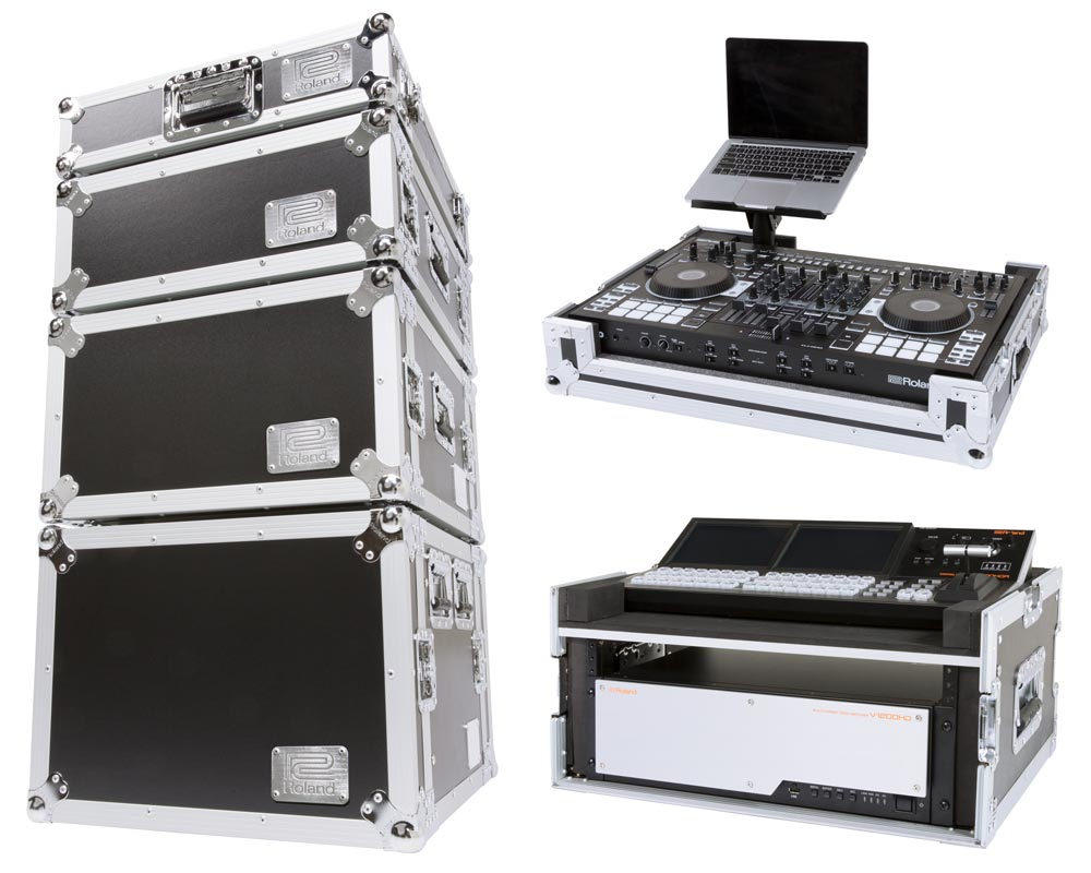 Protect your gear with Roland's heavy-duty road cases.