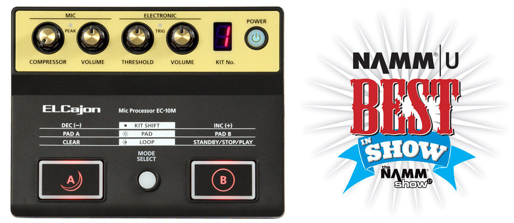 The Roland EC-10M received a Best in Show award from NAMM U.
