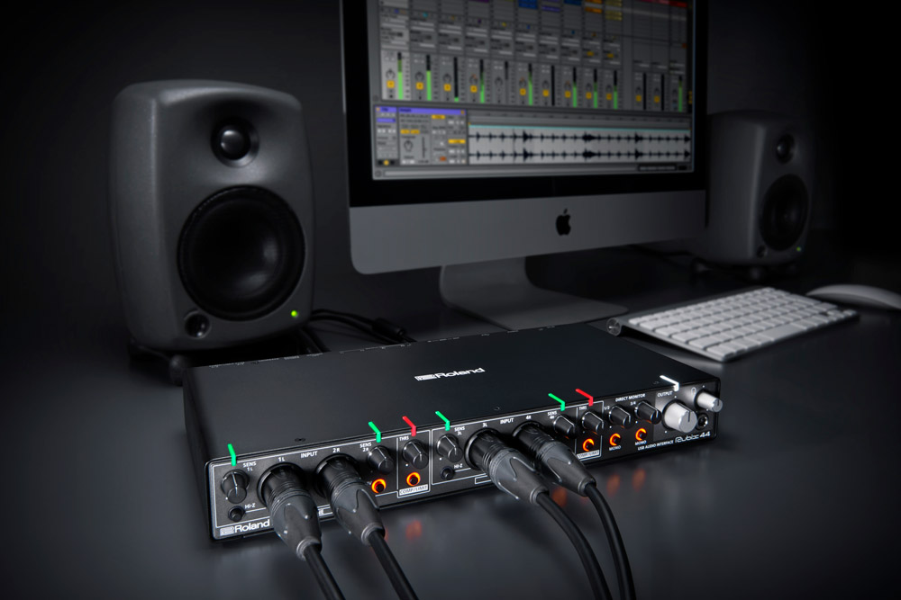 Offering four inputs and four inputs, the Rubix44 is ideally suited for home production and mobile situations where you need to record more sources at once.