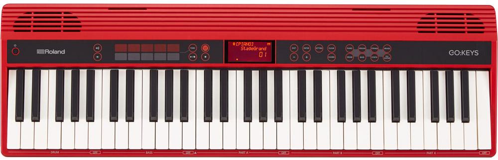 Roland GO:KEYS portable keyboard.