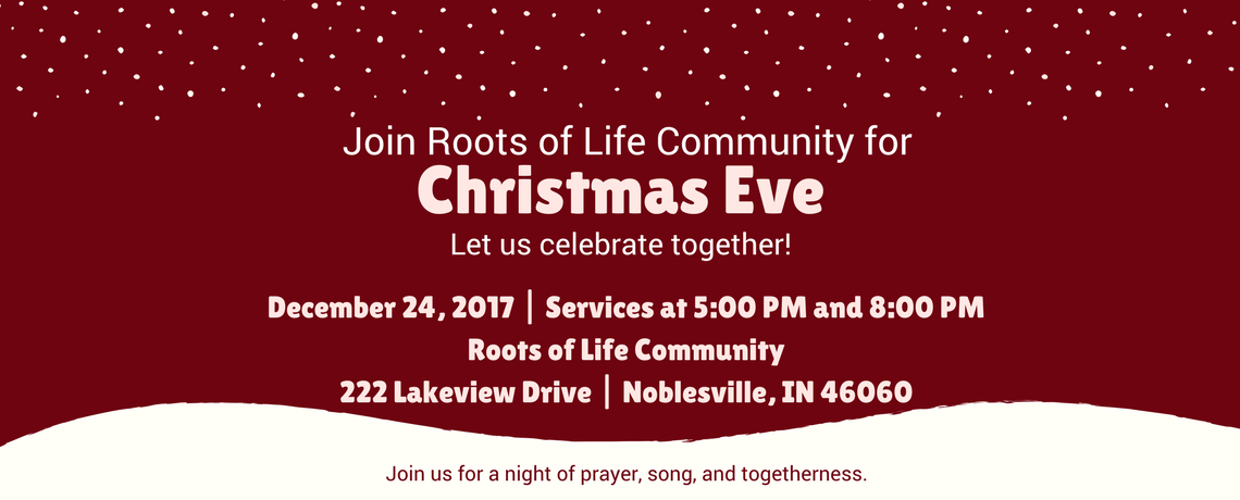 Join us for Christmas Eve!