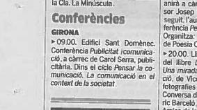 conferencia publicidad