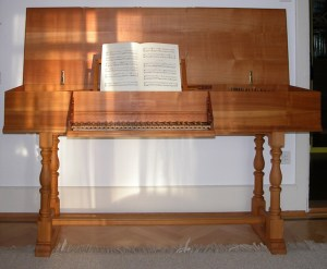 Our music instruments —Virginal