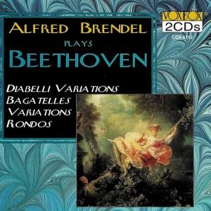 Beethoven: Variations, Bagatelles, Brendel, CD, cover