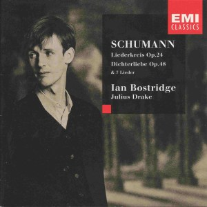 Schumann: Liedkreis op.39, Dichterliebe op.48 - Bostridge, Drake, CD cover