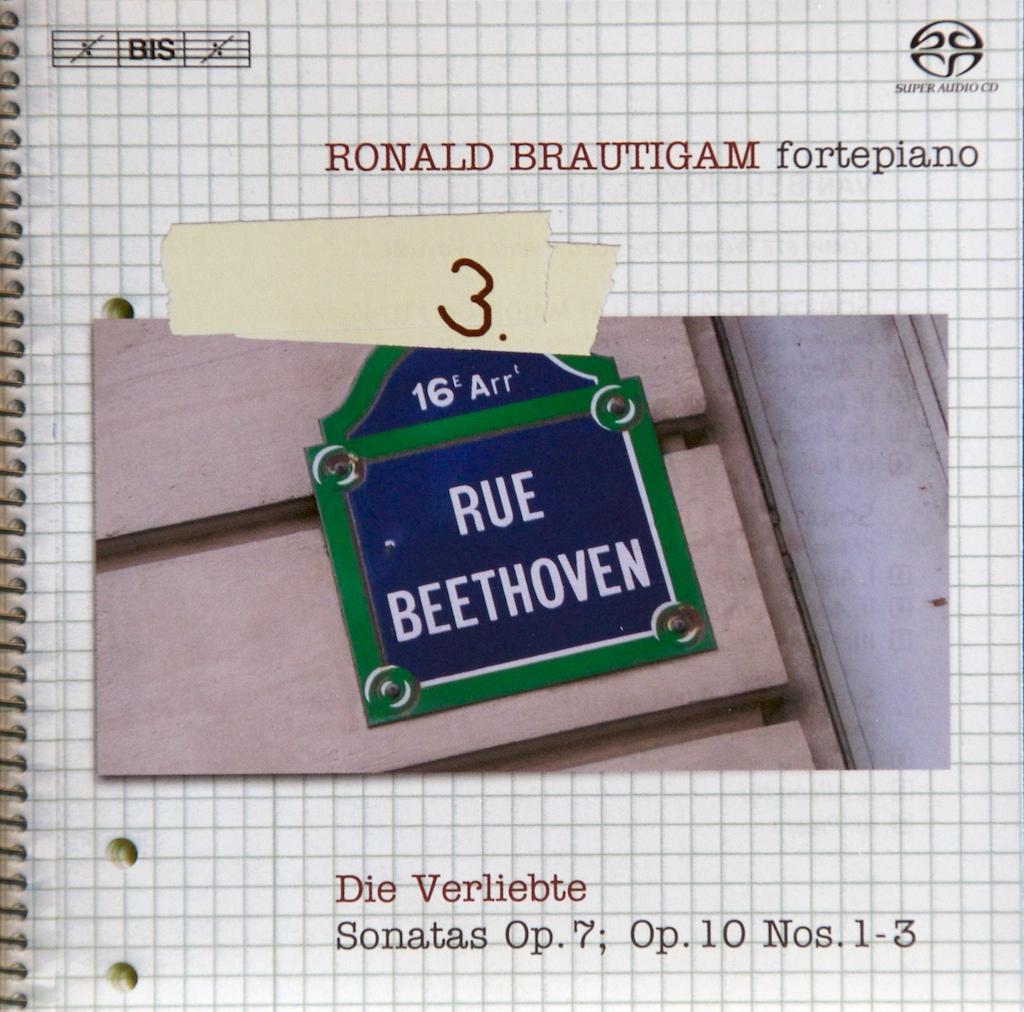 Beethoven: vol.3 - Piano sonatas opp.2/1-3, 49/1, 49/2 — Brautigam, CD cover