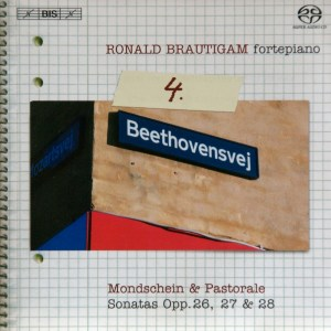 Beethoven: vol.4 - Piano sonatas opp.26, 27 & 28 — Brautigam, CD cover