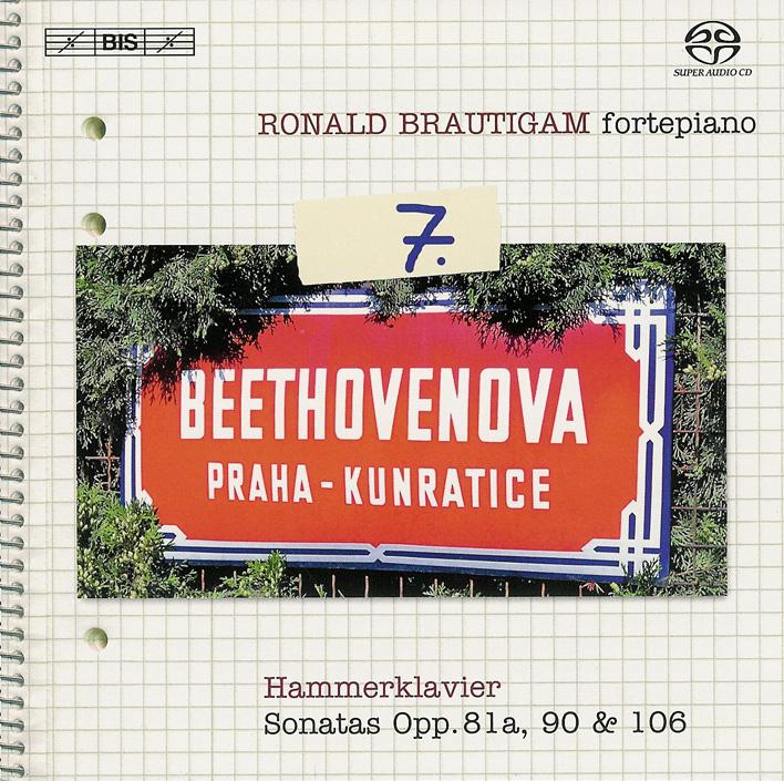 Beethoven: vol.7 - Piano sonatas opp.81a, 90, 106 — Brautigam; CD cover