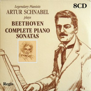 Beethoven: The Piano sonatas, Schnabel, CD cover