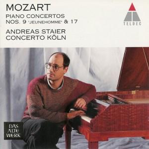 Mozart: Piano concertos K.271 & 453, Staier, CD cover