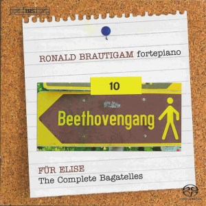 Beethoven: vol.10 - Für Elise, Bagatelles, Brautigam — CD, cover