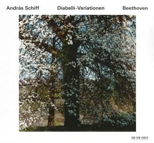 Beethoven: Diabelli Variations, Piano Sonata op.111, Bagatelles op.126 — András Schiff; CD cover