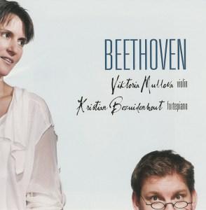 Beethoven: Violin sonatas 3 & 9, Mullova, Bezuidenhout, CD cover