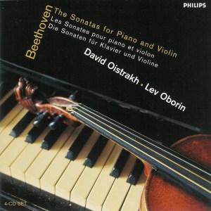 Beethoven: Violin sonatas, Oistrakh, Oborin, CD cover
