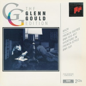 Bach: French Suites, Overture BWV 831, Gould, CD cover