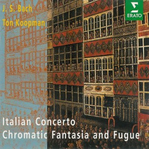 Bach: Chromatic Fant&Fugue, Ital.Conc., Koopman, CD cover