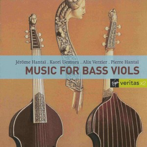 Music for Bass Viols, Hantaï, CD, cover