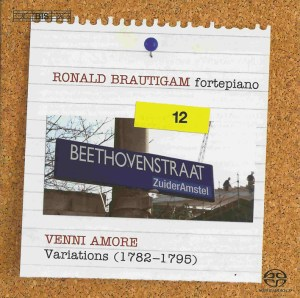 Beethoven: vol.12 - Venni amore, Variations, Brautigam — CD, cover