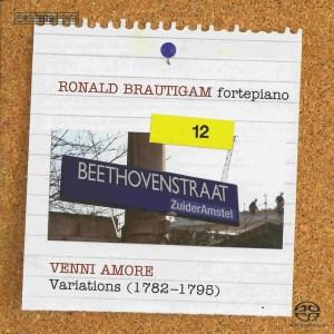Beethoven: vol.12 - Venni amore, Variations, Brautigam — CD, cover