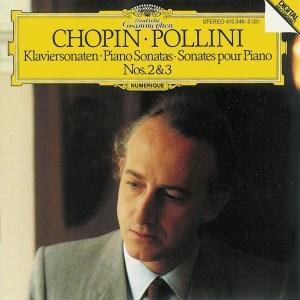 Chopin: Sonatas 2 & 3, Pollini, CD cover