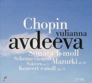 Chopin / Warsaw 2010 — YuliannaAvdeeva / Wit; CD cover