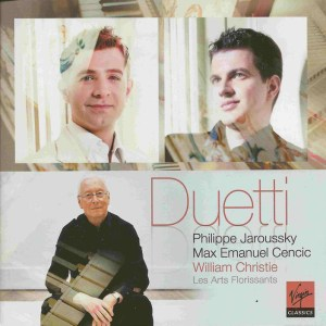 Duetti — Christie, Jaroussky, Cencic, CD cover