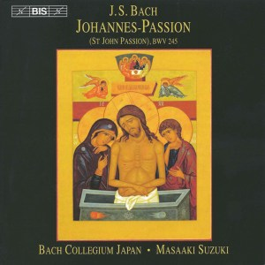 Bach, St.John Passion, Suzuki, Türk, CD cover