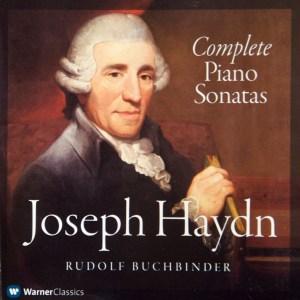 Haydn: Complete Piano Sonatas - Buchbinder; CD cover