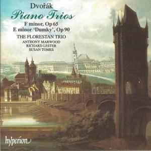 Dvořák: Piano Trios opp.65, 90, Florestan Trio, CD cover