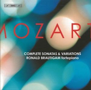 Mozart: Sonatas & Variations - Brautigam; CD cover