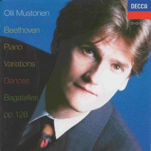 Beethoven: Piano Variations, Dances, Bagatelles, Mustonen, CD cover