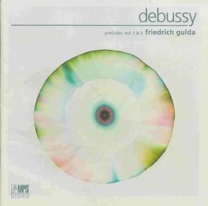 Debussy: Préludes I & II - Gulda, CD cover