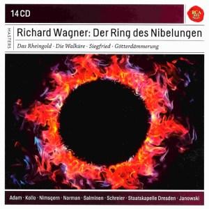 Wagner: Der Ring des Nibelungen, Janowski, CD cover