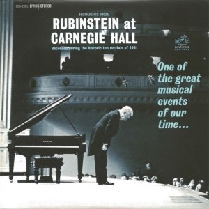 Rubinstein, The Complete Album Collection (142 CDs), cover, CD # 78