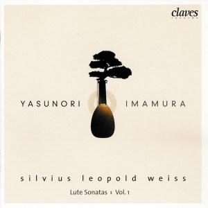 Silvius Leopold Weiss: Lautensonaten vol.1, Imamura, CD cover