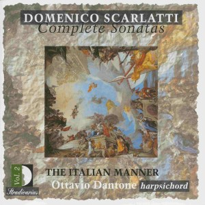 Domenico Scarlatti, Complete sonatas vol.2, Dantone, CD, cover