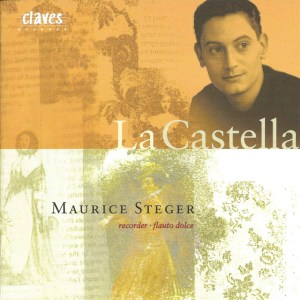La Castella, recorder music, Steger, Kitaya, CD cover