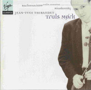 Rachmaninoff, Myaskovsky: Cello Sonatas, Mørk, Thibaudet, CD cover