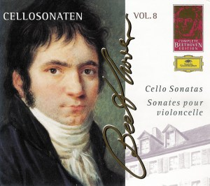 Beethoven: Cello sonatas, Maisky, Argerich, CD cover